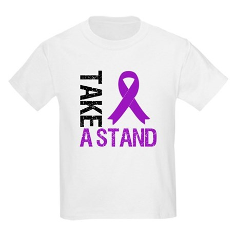 PancreaticCancer TakeAStand Kids Light T-Shirt