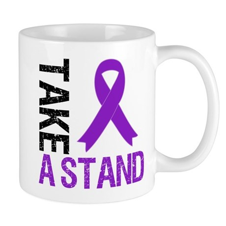 PancreaticCancer TakeAStand Mug