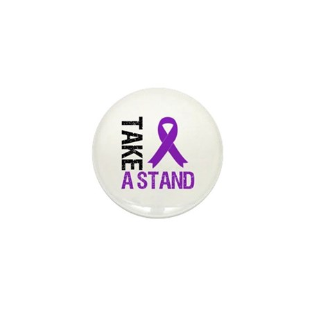 PancreaticCancer TakeAStand Mini Button (10 pack)