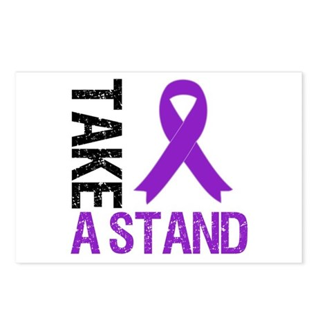 PancreaticCancer TakeAStand Postcards (Package of