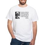 Mark Twain 21 White T-Shirt