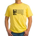 Mark Twain 21 Yellow T-Shirt