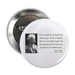 """Mark Twain 21 2.25"""" Button"""