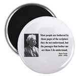 "Mark Twain 21 2.25"" Magnet (100 pack)"
