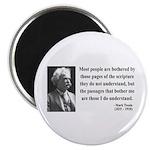 "Mark Twain 21 2.25"" Magnet (10 pack)"