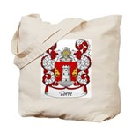 Torre Family Crest Tote Bag