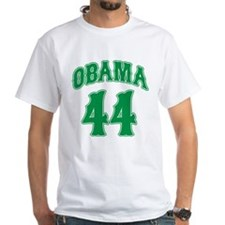 Barack Obama green 44 Shirt