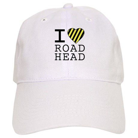 I Love Road Head Cap