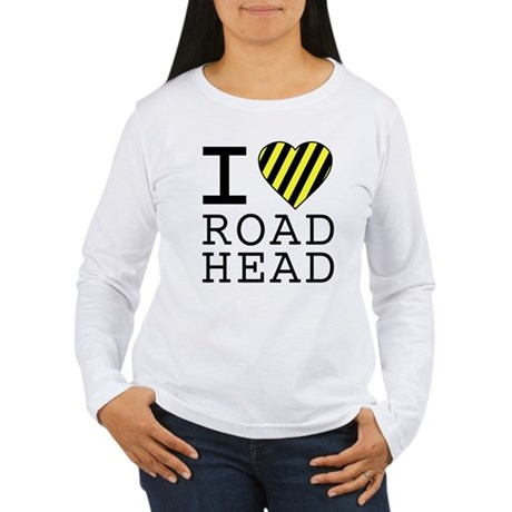 I Love Road Head Womens Long Sleeve T-Shirt
