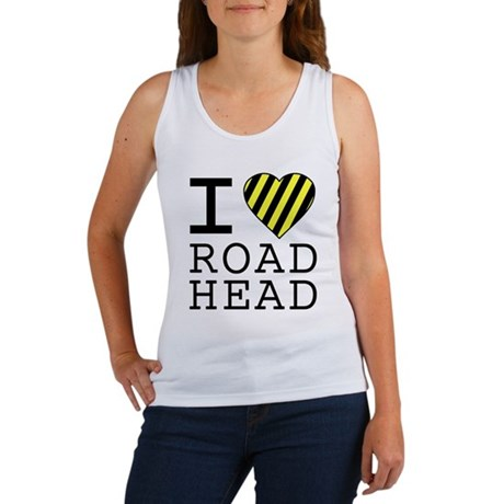 I Love Road Head Womens Tank Top