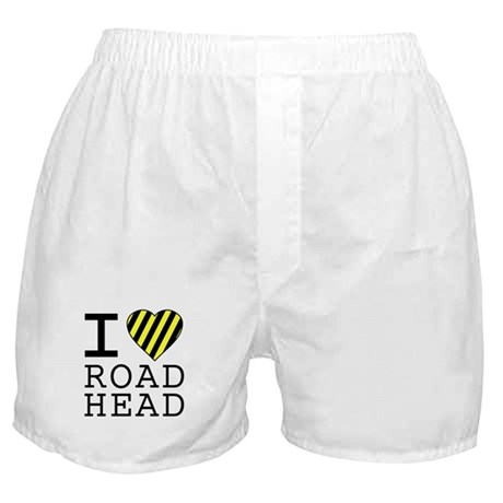 I Love Road Head Boxer Shorts