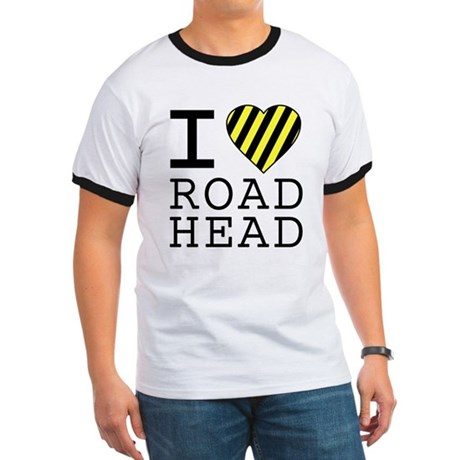 I Love Road Head Ringer T
