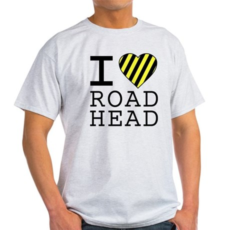 I Love Road Head Light T-Shirt