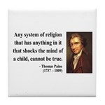 Thomas Paine 19 Tile Coaster