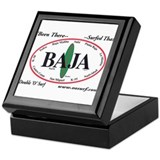 Baja Norte Surf Spots Keepsake Box