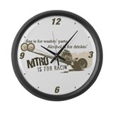 NITRO Large Wall Clock