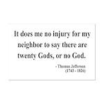 Thomas Jefferson 9 Mini Poster Print