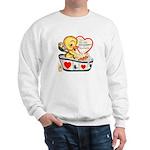 Ducky Valentine Sweatshirt