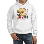 Ducky Valentine Hooded Sweatshirt