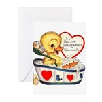 Ducky Valentine Greeting Cards (Pk of 10)