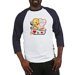Ducky Valentine Baseball Jersey