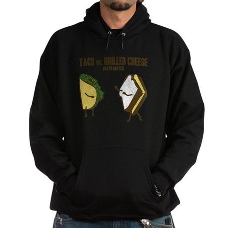 Taco VS Grilled Cheese Hoodie (dark)
