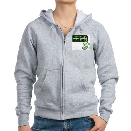 Honeydew: The Money Melon Women's Zip Hoodie