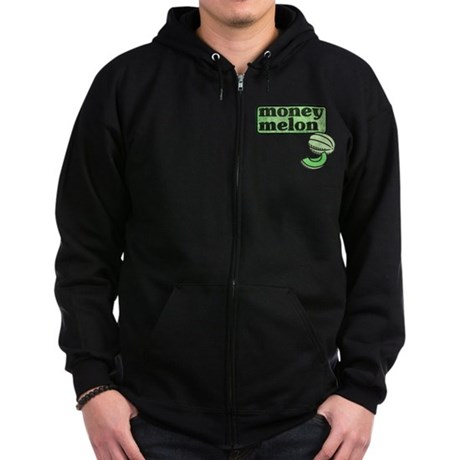 Honeydew: The Money Melon Zip Hoodie (dark)