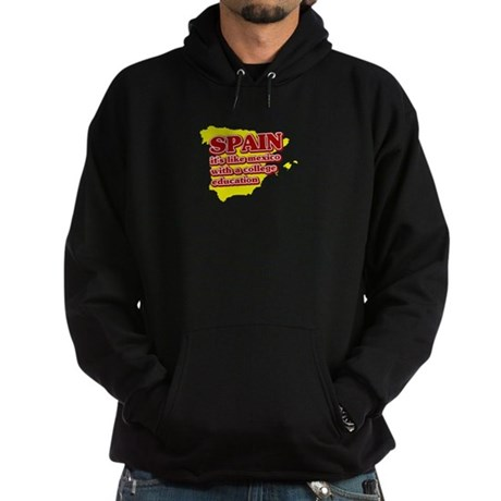 Spain Like Mexico Hoodie (dark)