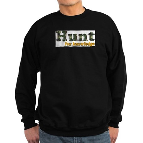 Hunt For Knowledge Sweatshirt (dark)