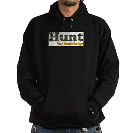 Hunt For Knowledge Hoodie (dark)