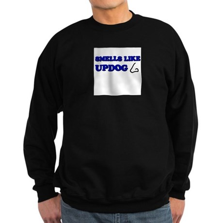Smells Like Updog Sweatshirt (dark)