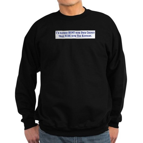 Ride with Ted Kennedy Sweatshirt (dark)