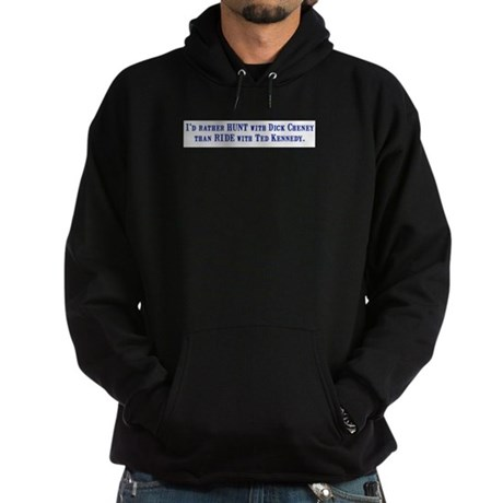 Ride with Ted Kennedy Hoodie (dark)