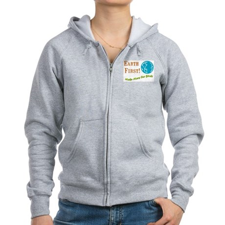 Earth First Women's Zip Hoodie