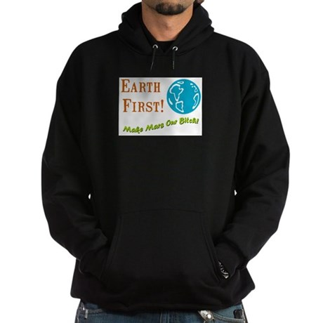 Earth First Hoodie (dark)