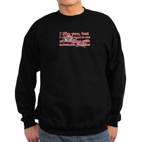 Subatomic Particles Sweatshirt (dark)