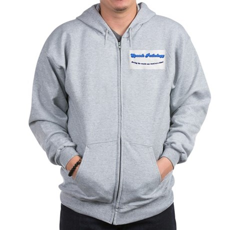 Speech Pathology Zip Hoodie