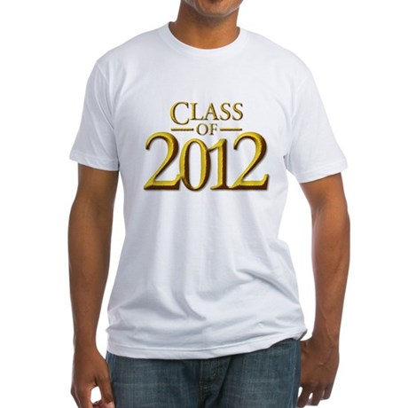 Class of 12 Fantasy Fitted T-Shirt
