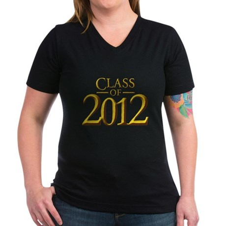 Class of 12 Fantasy Women's V-Neck Dark T-Shirt