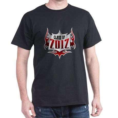 Class of 2012 Flames Dark T-Shirt