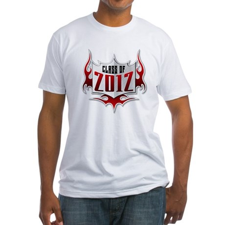 Class of 2012 Flames Fitted T-Shirt