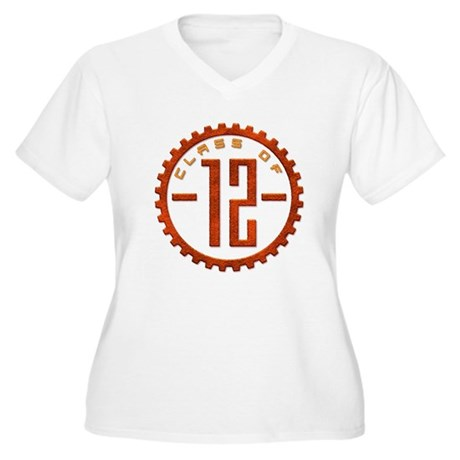 Class of 12 Gear Women's Plus Size V-Neck T-Shirt