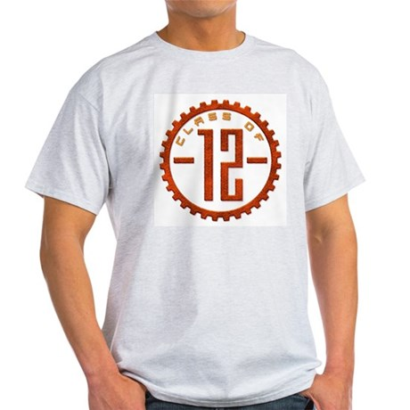 Class of 12 Gear Light T-Shirt