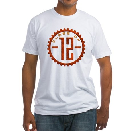 Class of 12 Gear Fitted T-Shirt