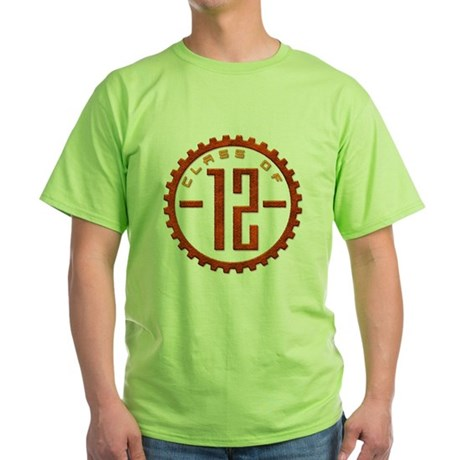 Class of 12 Gear Green T-Shirt