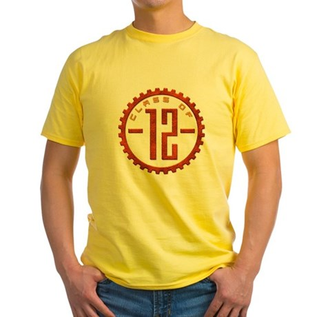 Class of 12 Gear Yellow T-Shirt