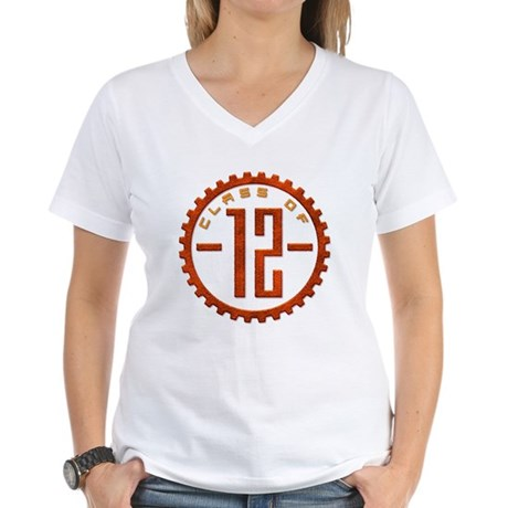 Class of 12 Gear Women's V-Neck T-Shirt