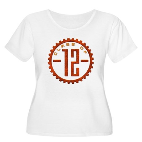 Class of 12 Gear Women's Plus Size Scoop Neck T-Sh