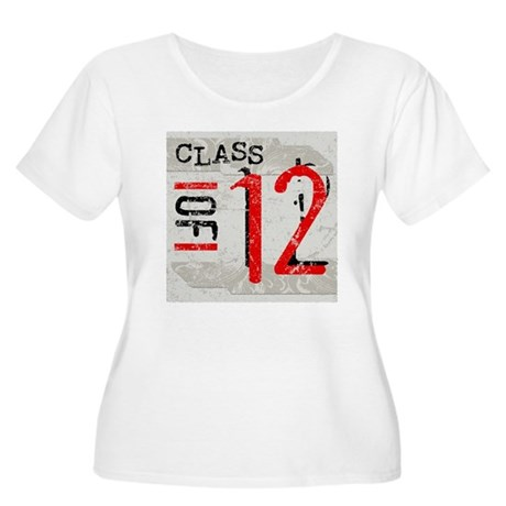 Class of 12 Grunge Women's Plus Size Scoop Neck T-